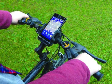 Streetwize Bicycle Phone Holder Black